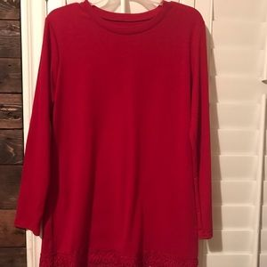 Tops - Red tunic